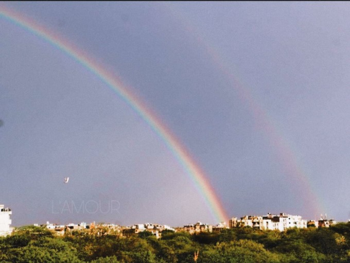 Double Rainbows Spotted In Delhi