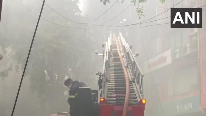 Fire Breaks Out At Raghuvanshi Mills In Mumbai