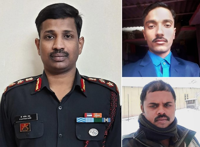 Last Rites Of Indian Soldiers Havildar Palani Who Was Martyred In Indo-china Clash