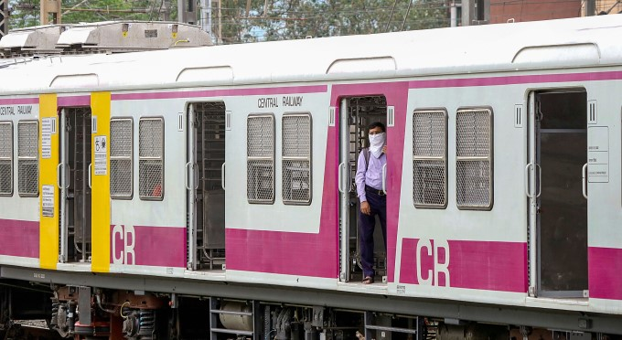 Mumbai Local Trains Starts For Essentials Services