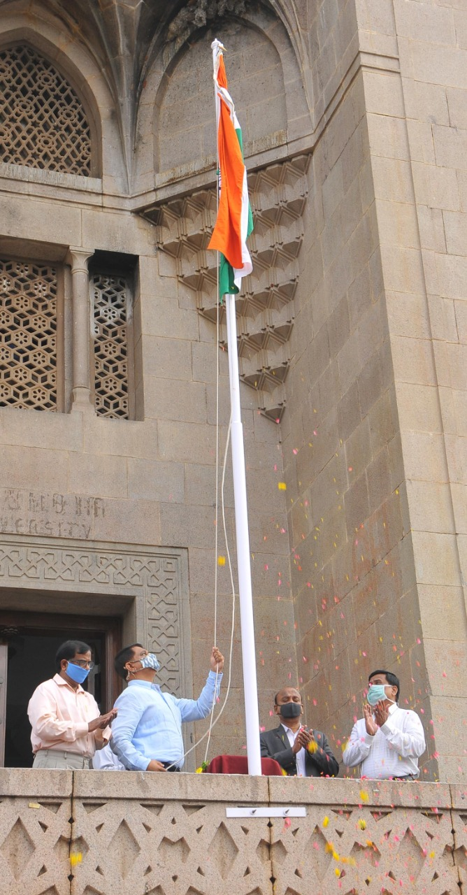 National Flag Inconnection With Telangana State Formation Day Celebrations At Osmania University In Hyderabad