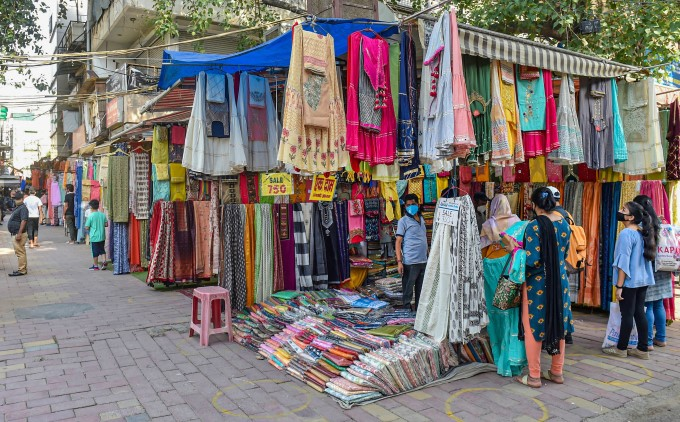 Markets Reopen In New Delhi