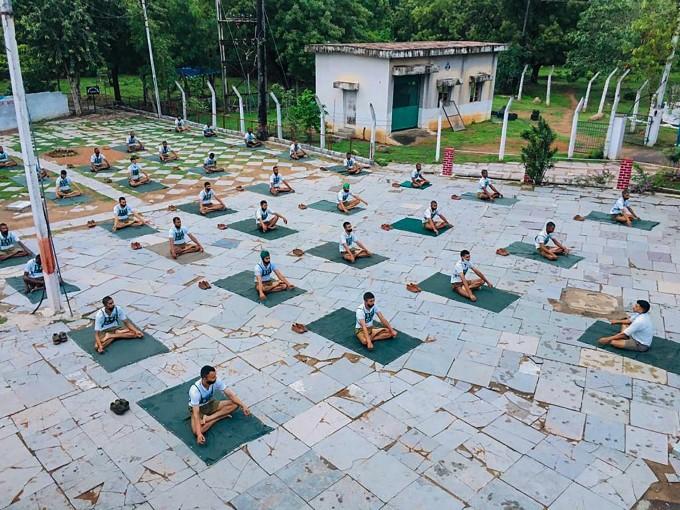 சர்வதேச யோகா தினம் 2020- அசத்தல் படங்கள்
