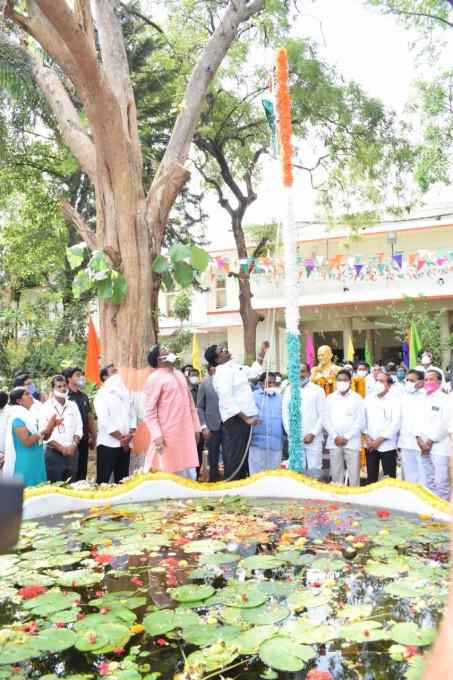 Puvvada Ajay Kumar Transport Minister Telangana State Formation Day Celebrations