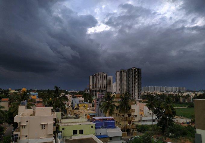 Southwest Monsoon Arrives In Karnataka