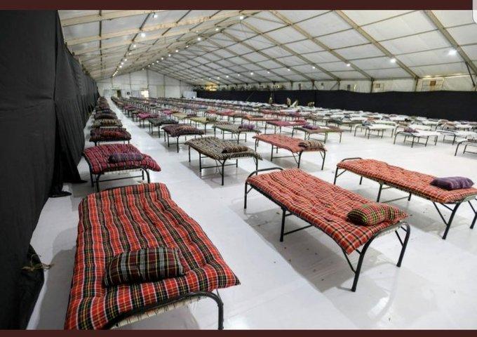 3520 Beds COVID-19 Treatment Facilities At Mahalaxmi Race Course In Mumbai