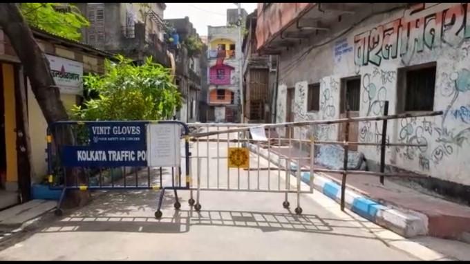 লকডাউনে শুনশান কলকাতার রাস্তাঘাট, প্রহরায় প্রশাসন