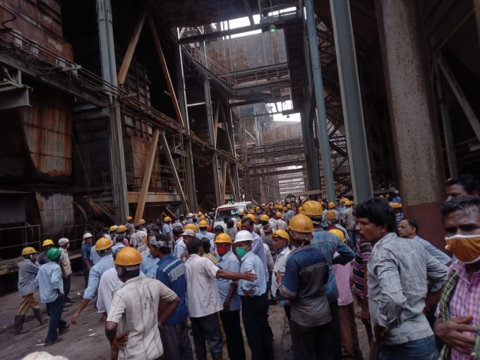 Boiler Explosion At Neyveli Lignite Corporation Power Plant In Cuddalore