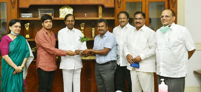 CM KCR Sanctioned 50 Lakhs To Set Up Botanical Garden At Jadcherla