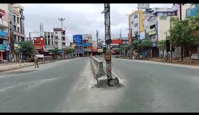 Complete Lockdown In Tamilnadu On Sunday