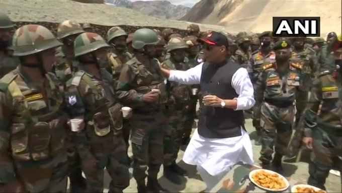 Defence Minister Rajnath Singh Two Day Visit To Ladakh