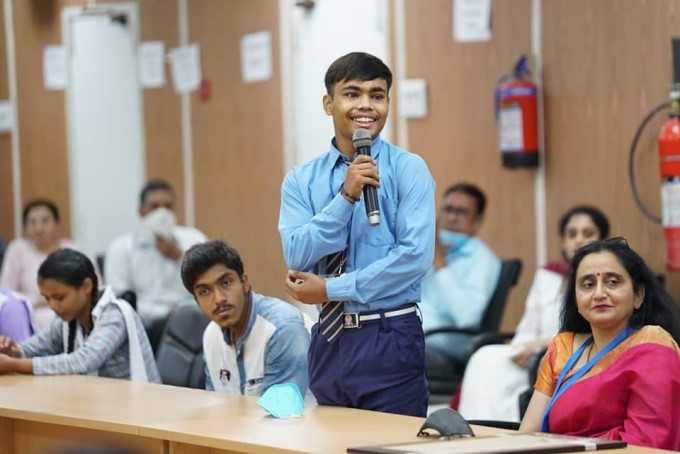 Delhi CM Arvind Kejriwal Interacted With Class 12 Students