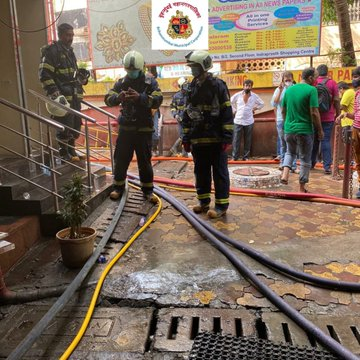 Fire Breaks Out At Indraprastha Shopping Centre