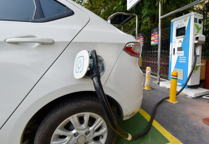 India's First Public EV Charging Plaza Inaugurated In New Delhi