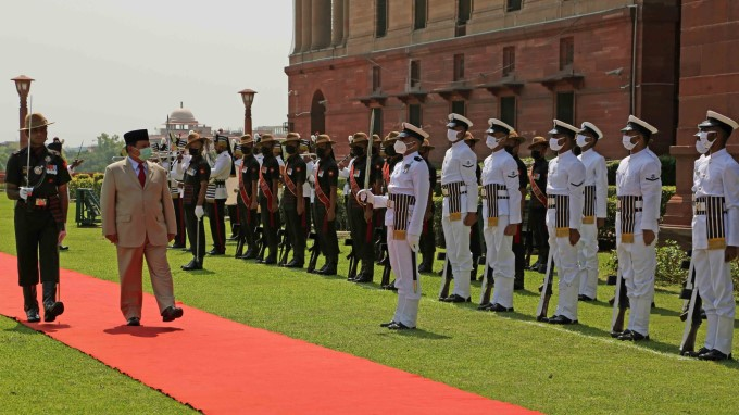 Indonesian Defence Minister Gen Prabowo Subianto 3 Day Visit To India