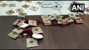 Rakhis Using Traditional Items For Rakshabandhan