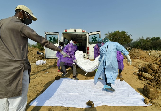 Cremation Of COVID-19 Victims Across India