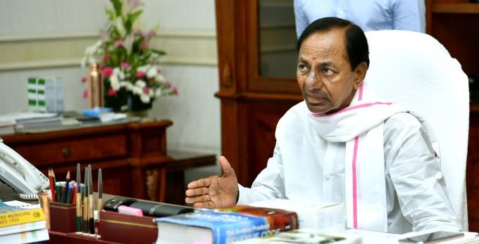 CM KCR Held A Review Meeting On Irrigation At Pragathi Bhavan