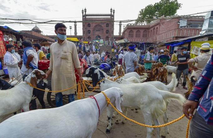 Preparations For Eid Al-Adha Festival