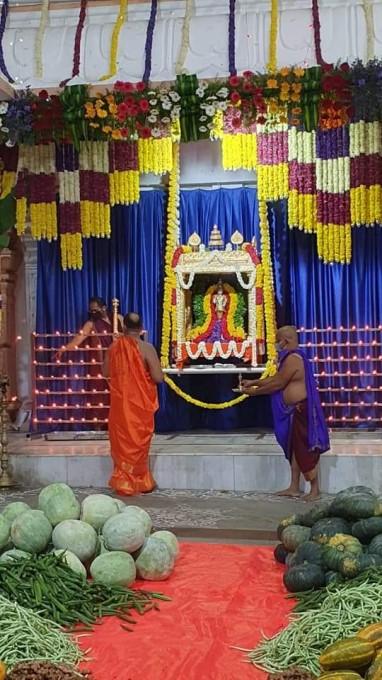 ಕಲಿಯುಗದ ಕಾಮಧೇನು ಗುರು ರಾಘವೇಂದ್ರರ 349ನೇ ಆರಾಧನಾ ಮಹೋತ್ಸವದ ಚಿತ್ರಗಳು