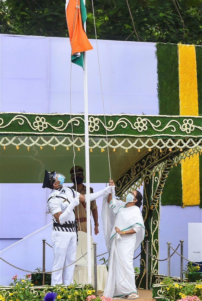 ৭৪ তম স্বাধীনতা দিবসের অনুষ্ঠান পালিত হল কলকাতায়