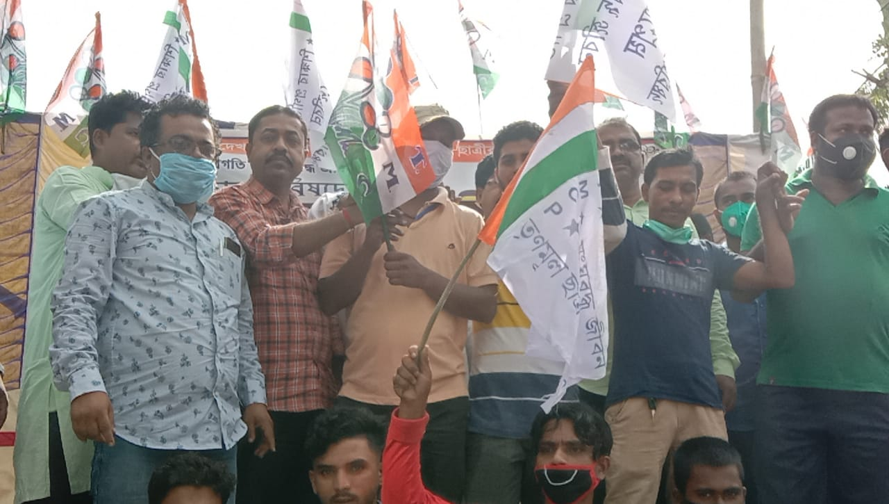 BJP Workers Joins TMC In Basirhat