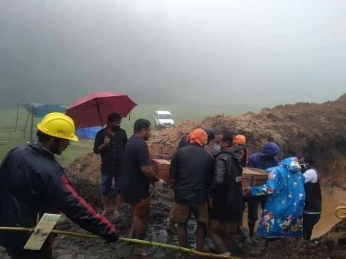 Damages Caused Due To Heavy Rainfall In Kerala