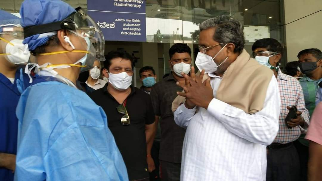 Former CM Siddaramaiah Test Nagative Covid-19 Discharged From Hospital