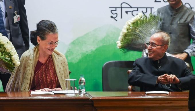 File Photos Of Former President Pranab Mukherjee