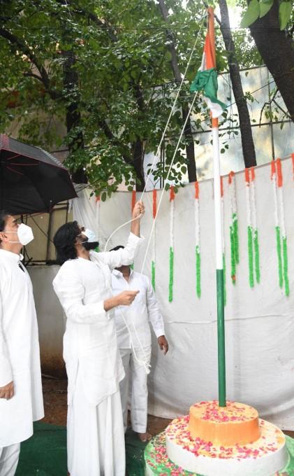 Independence Day Celebrations At Janasena Party Office