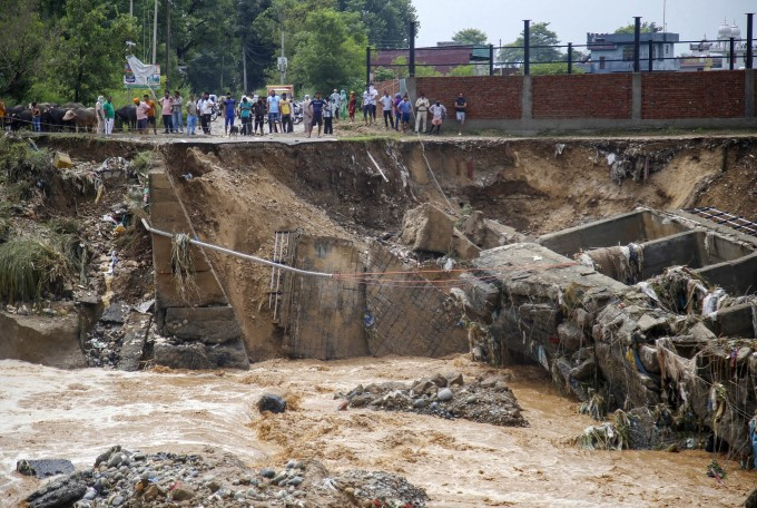 Monsoon In Jammu And Kashmir 2020