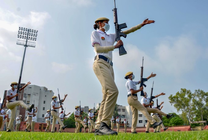 Full Dress Rehearsals For 74th Independence Day Across India