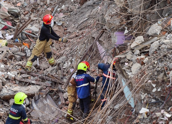 Five-storey Residential Building Collapsed In Raigad District