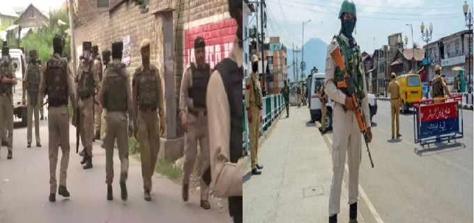 Terrorists Attack Police Party In J&K's Nowgam