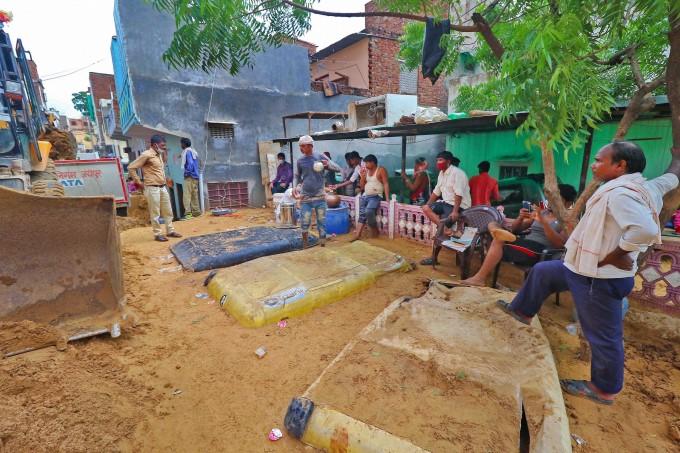 Heavy Rain Lashes In Jaipur