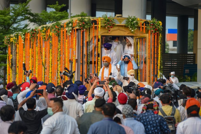 Stranded Indian Nationals Arrives At IGI Airport T3 In New Delhi
