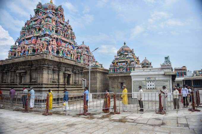 Temples Reopens Admist Covid In Tamil Nadu