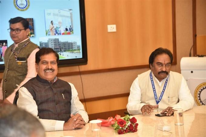 File Photos Of MoS Railways Suresh Angadi