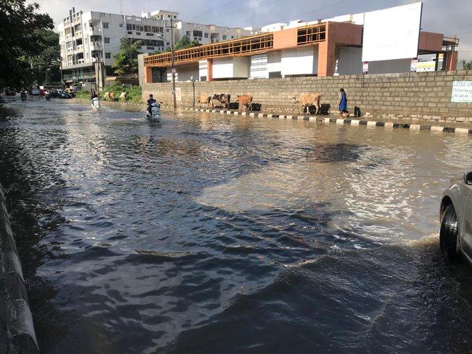 Heavy Rain Lashes Bengaluru