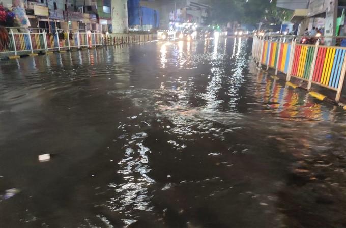 Heavy Rain Lashes In Hyderabad