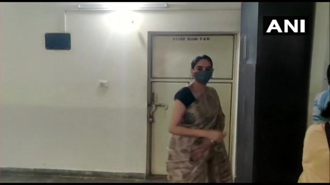 Karnataka CCB Team Search At Kannada Actress Ragini Residence In Bengaluru