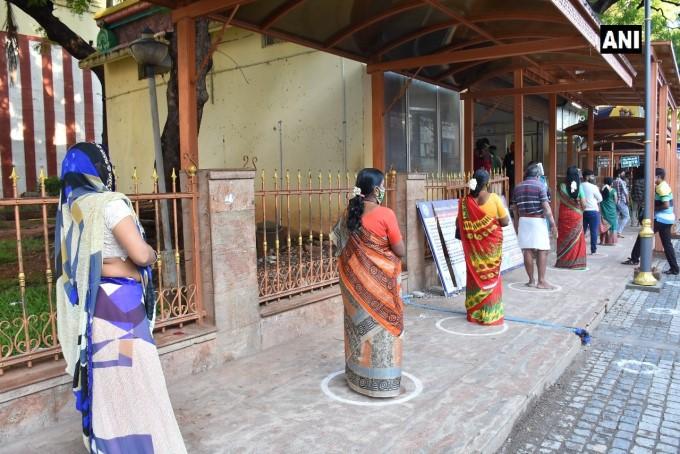Madurai Meenakshi Amman Temple Re-opens For Devotees In Madurai