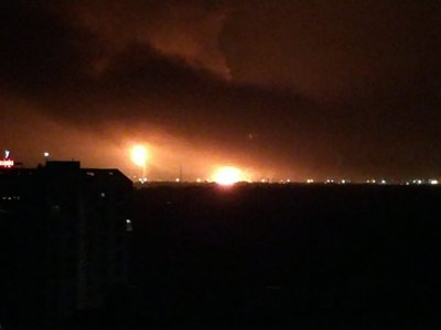 Massive Fire Breaks Out At ONGC In Gujarat