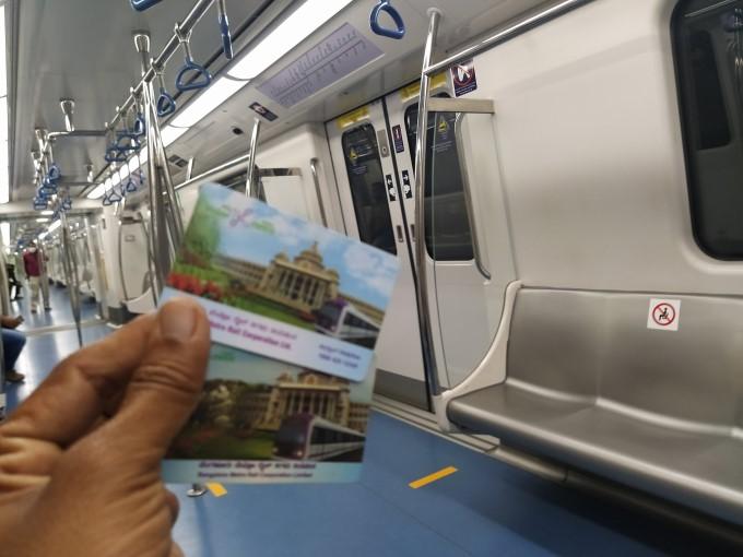 Namma Metro Service Resumes In Bengaluru