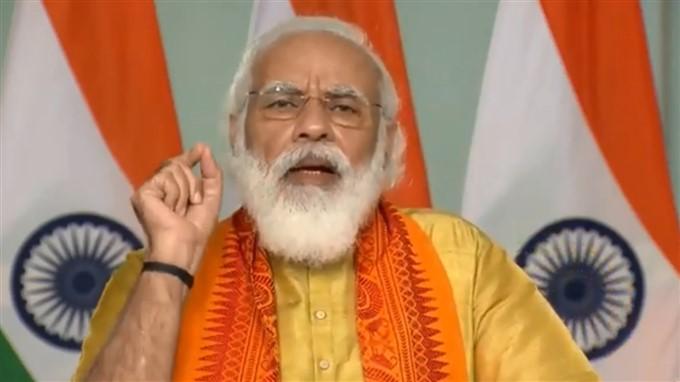 PM Modi Inaugurates Six Projects In Uttarakhand
