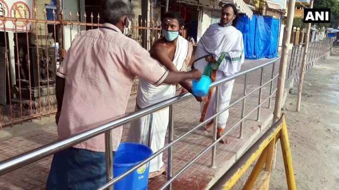 Religious Places Reopened For The Devotees In Rameswaram