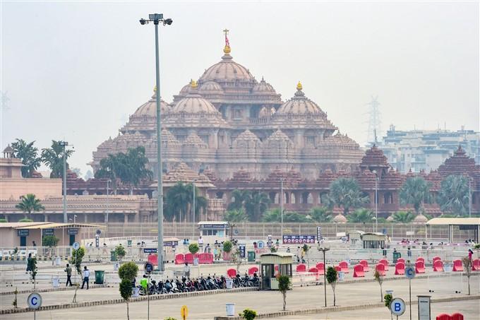 Akshardham Temple Reopened For Public In New Delhi