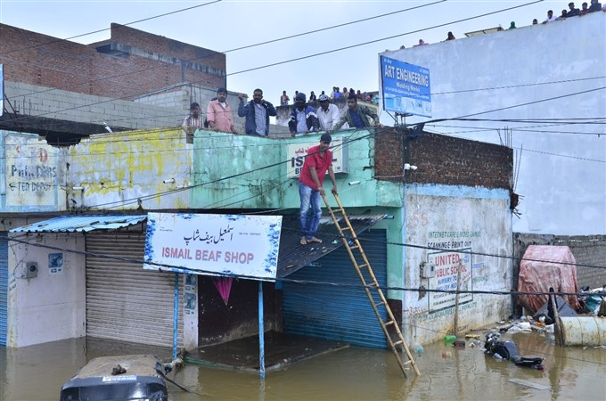 Heavy Rain Lashes In Telangana