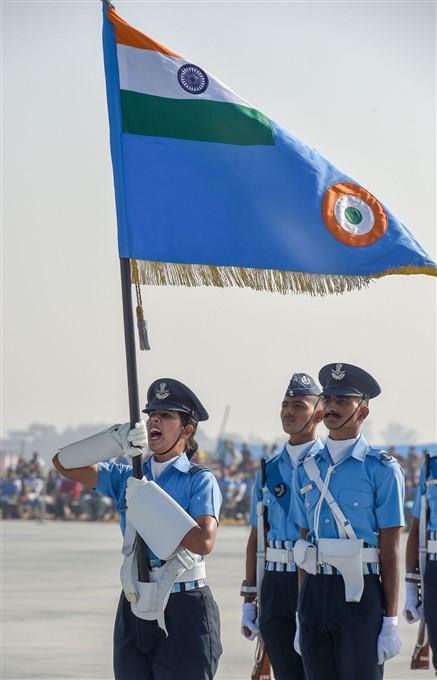 ಚಿತ್ರಗಳು: ಐಎಎಫ್ 88 ನೇ ವಾರ್ಷಿಕೋತ್ಸವಕ್ಕೆ ಏರ್ ಶೋ ತಾಲೀಮು
