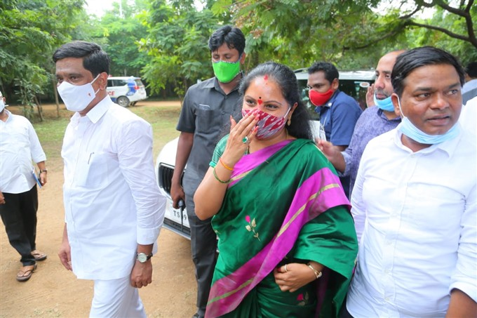 KCR Daughter Kavitha Sweeps Nizamabad MLC Election With Big Win